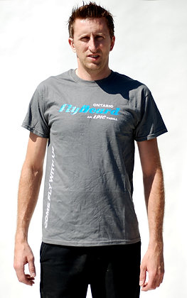 Men's Grey Flyboard T-Shirt