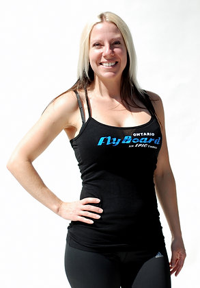 Women's Black Flyboard Tank Top