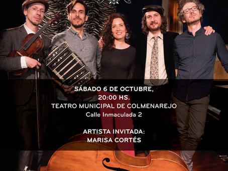 ASTOR en Concierto!!!! Sábado 6 de octubre en Colmenarejo!!