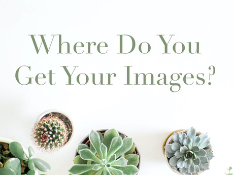 Where do you get your images?