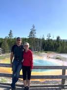 Jason and I at Yellowstone