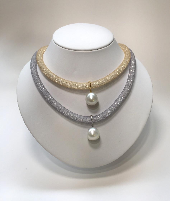 宇土真珠のパールペンダント