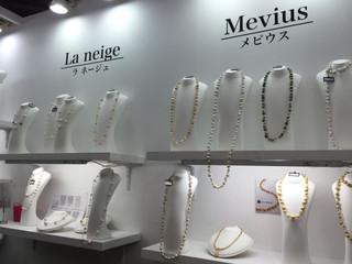 国際宝飾展、最終日!