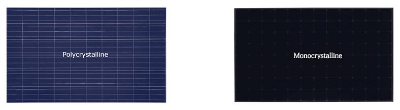 monocrystalline verses polycrystalline solar panels