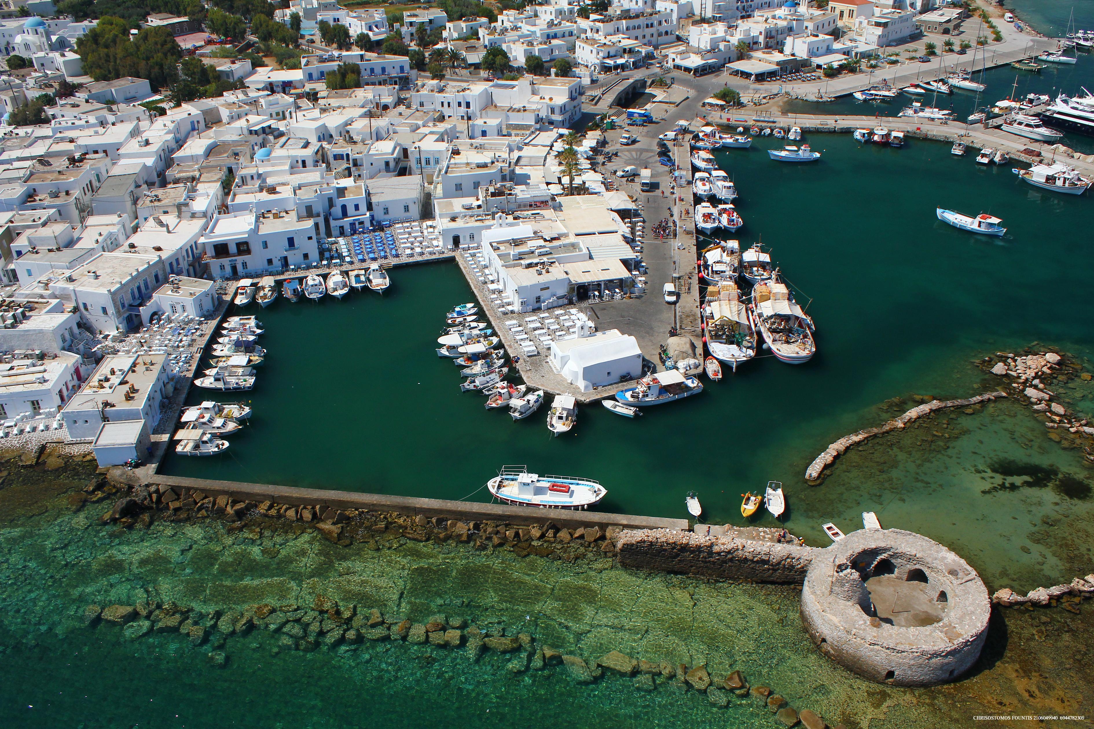 Naoussa Port