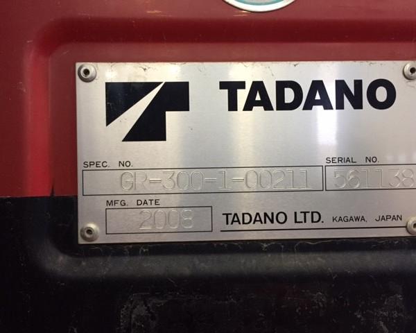 Tadano GR-300XL