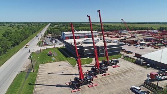 Mammoet Crane Rental Houston Texas