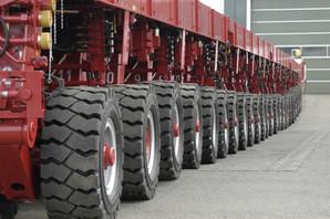 SPMT Heavy Transport