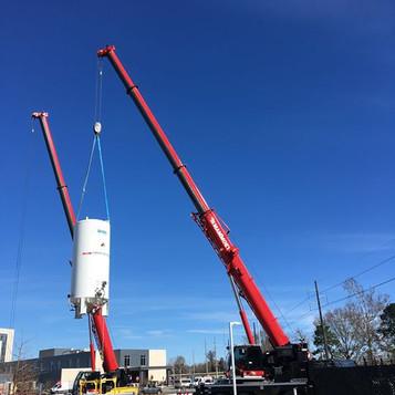 Lifting Tanks in Baton Rouge