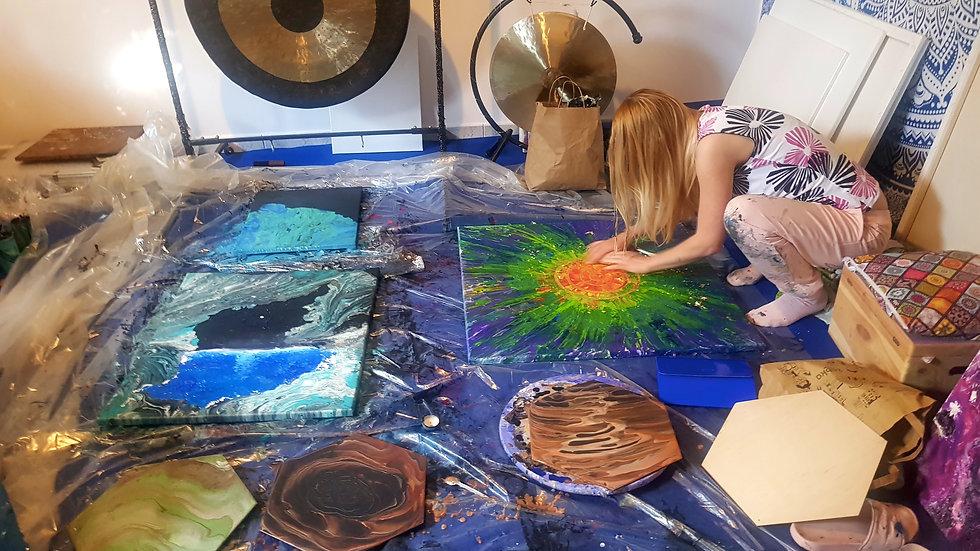 malowanie obrazów duszy