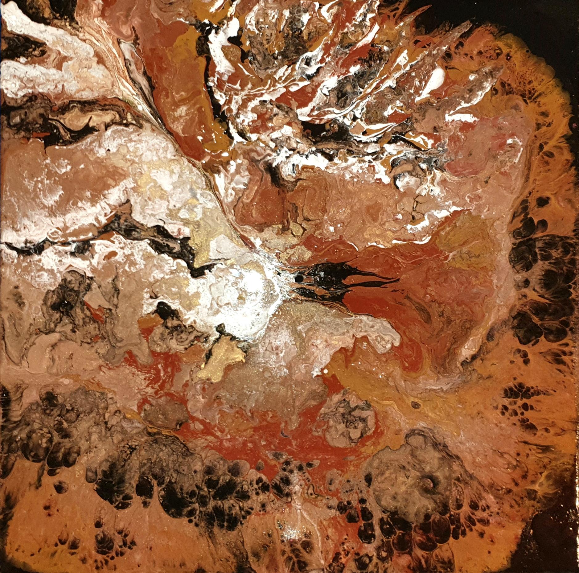 """Obraz akryl 40cm x 40cm pt. """"Ptak"""" (2020)"""