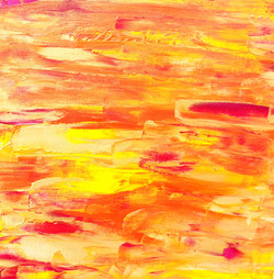 "Obraz akryl 40cm x 40cm pt. ""Słońce"" (2019)"