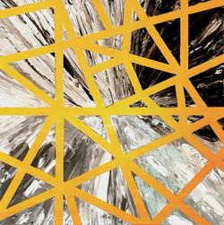 """Obraz akryl 70cm x 70cm pt. """"Cybernetyczna"""" (2020)"""