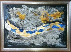 """Obraz akryl w ramie 114cm x 83cm pt. """"Kraina snów"""" (2020)"""