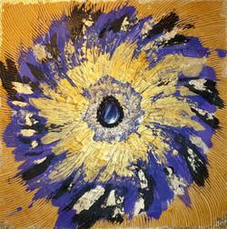 """Obraz akryl 70cm x 70cm pt. """"Trzecie oko"""" (2021)"""