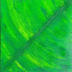 """Obraz akryl 60cm x 60cm pt. """"Liść 2"""" (2021)"""