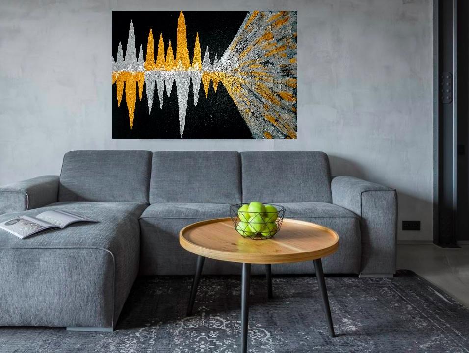 """Wizualizacja obrazu """"Dźwięk II"""""""