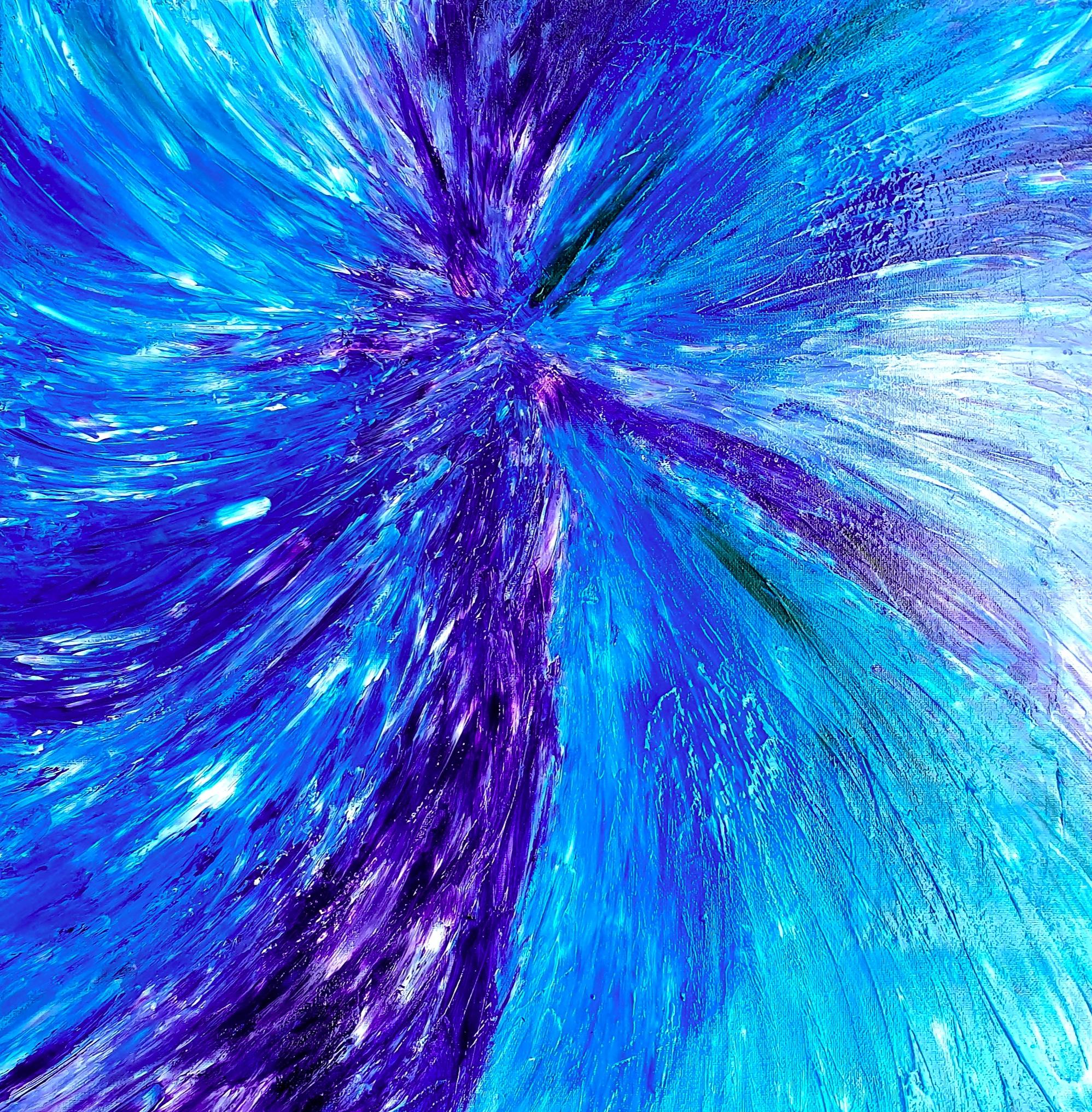 """Obraz akryl 50cm x 50cm pt. """"Tańczący anioł"""" (2019)"""