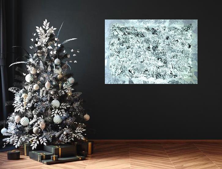 """Wizualizacja obrazu """"Śnieżne szczyty"""""""
