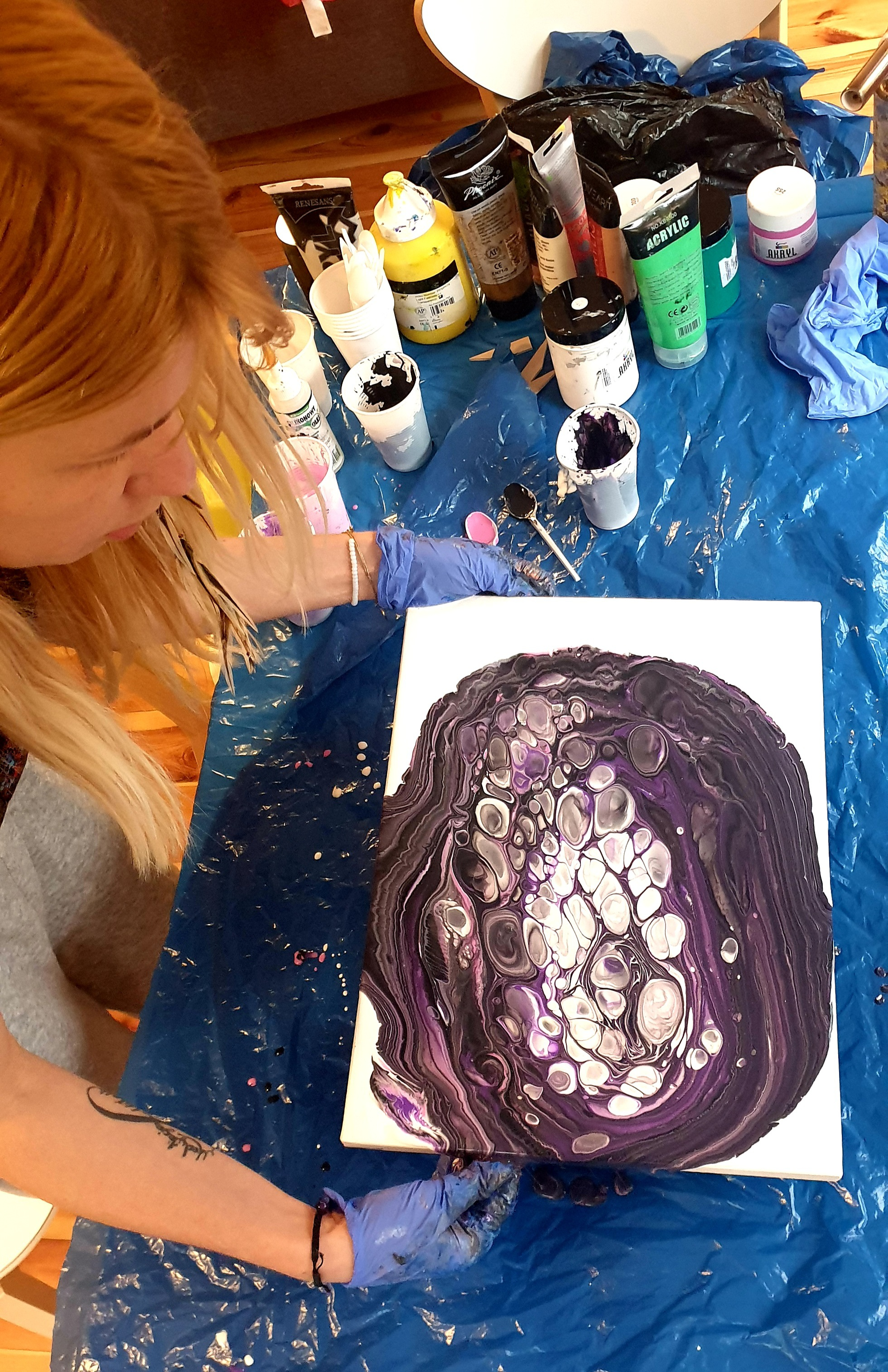 Zajęcia - Malowanie Intuicyjne - Fundacja Samouzdrawianie 07_2020