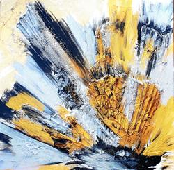 """Obraz akryl 50cm x 50cm pt. """"Rozbłysk"""" (2020)"""