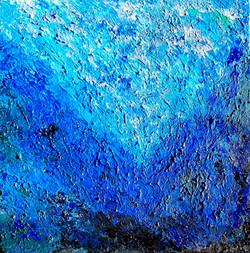"Obraz akryl 50cm x 50cm pt. ""Ocean"" (2019)"
