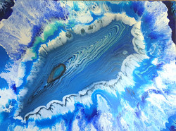 """Obraz akryl 100cm x 75cm x 4cm pt. """"Ocean możliwości"""" (2021)"""