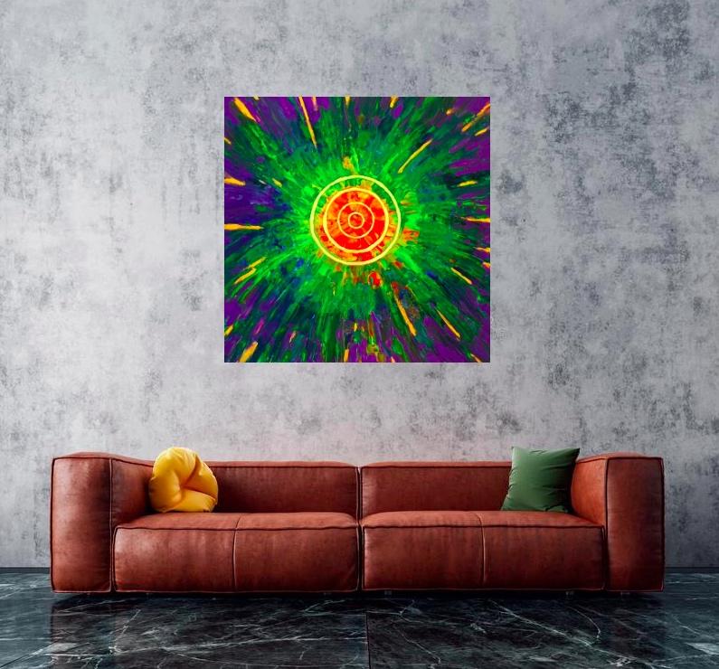 """Wizualizacja obrazu """"Solar"""""""