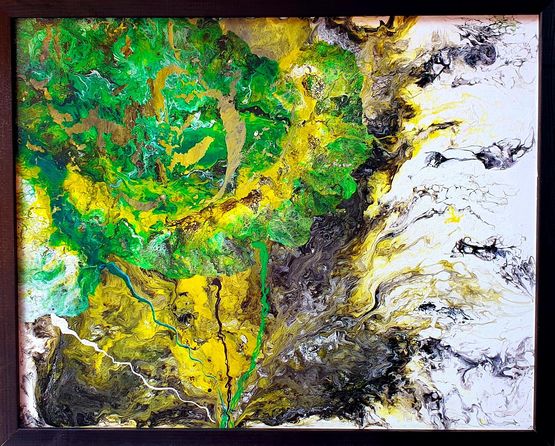 """Obraz akryl 54cm x 44cm pt. """"Amazonia"""" (2020)"""