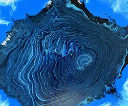 """Obraz akryl 60cm x 50cm x 4cm pt. """"Wyspa"""" (2021)"""