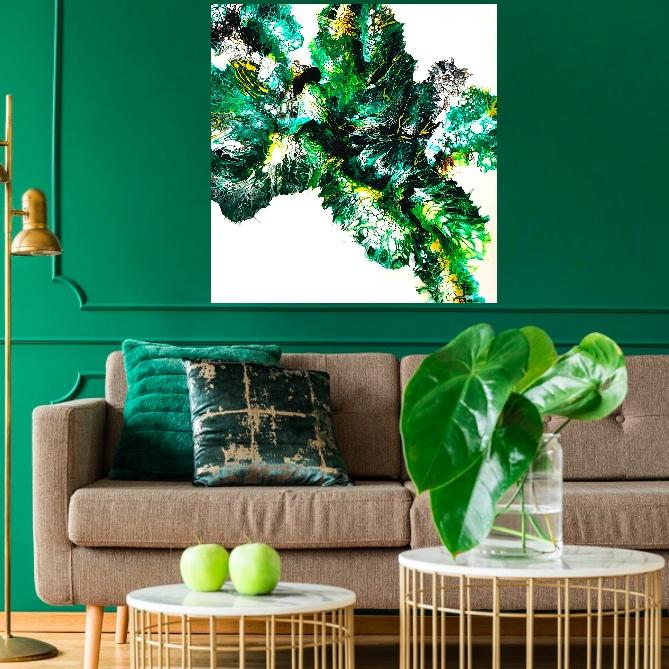 """Wizualizacja obrazu """"Magia zieleni"""""""