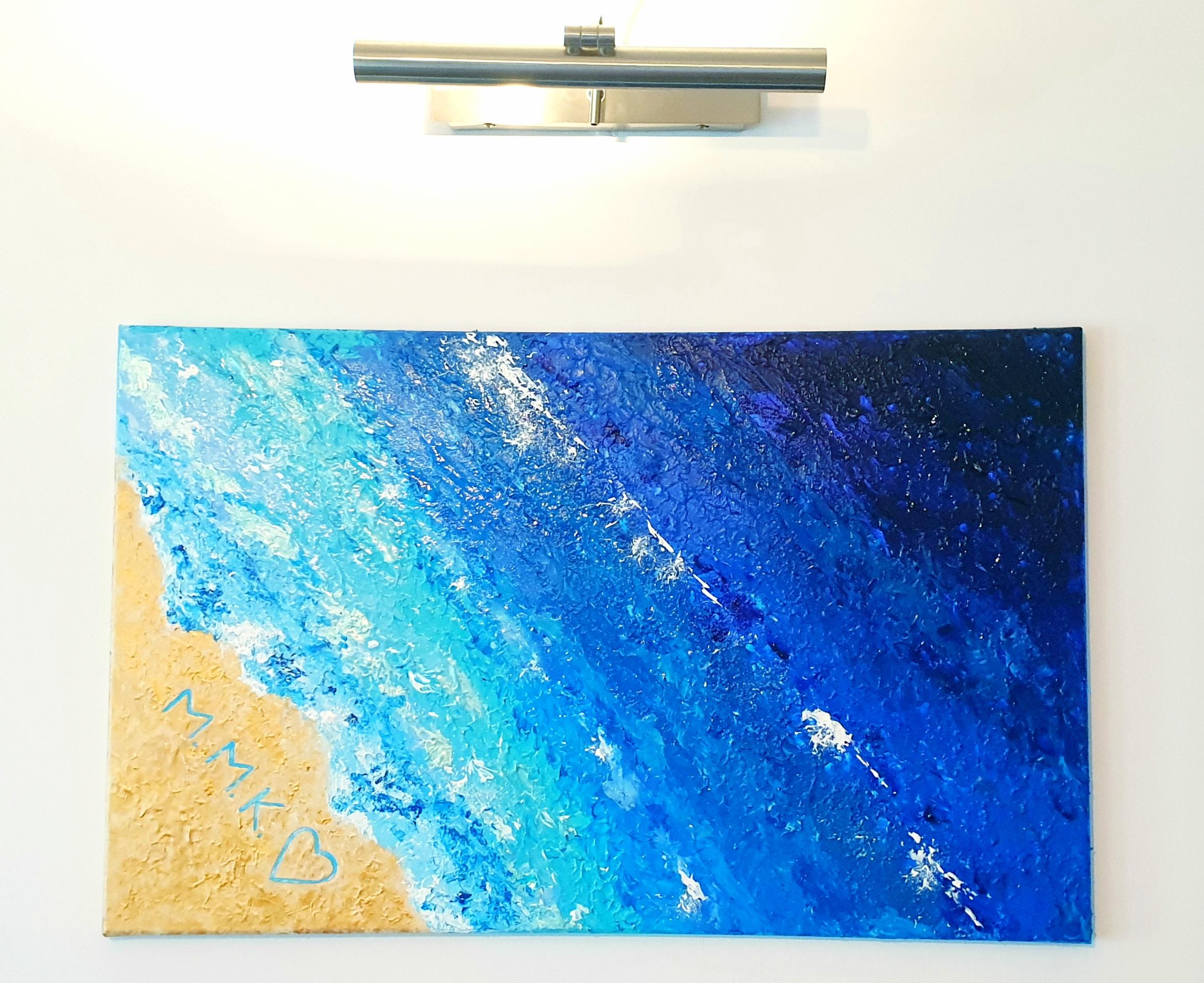"""Obraz akryl 100cm x 50cm pt. """"Nadmorskie wybrzeże II"""" (202"""