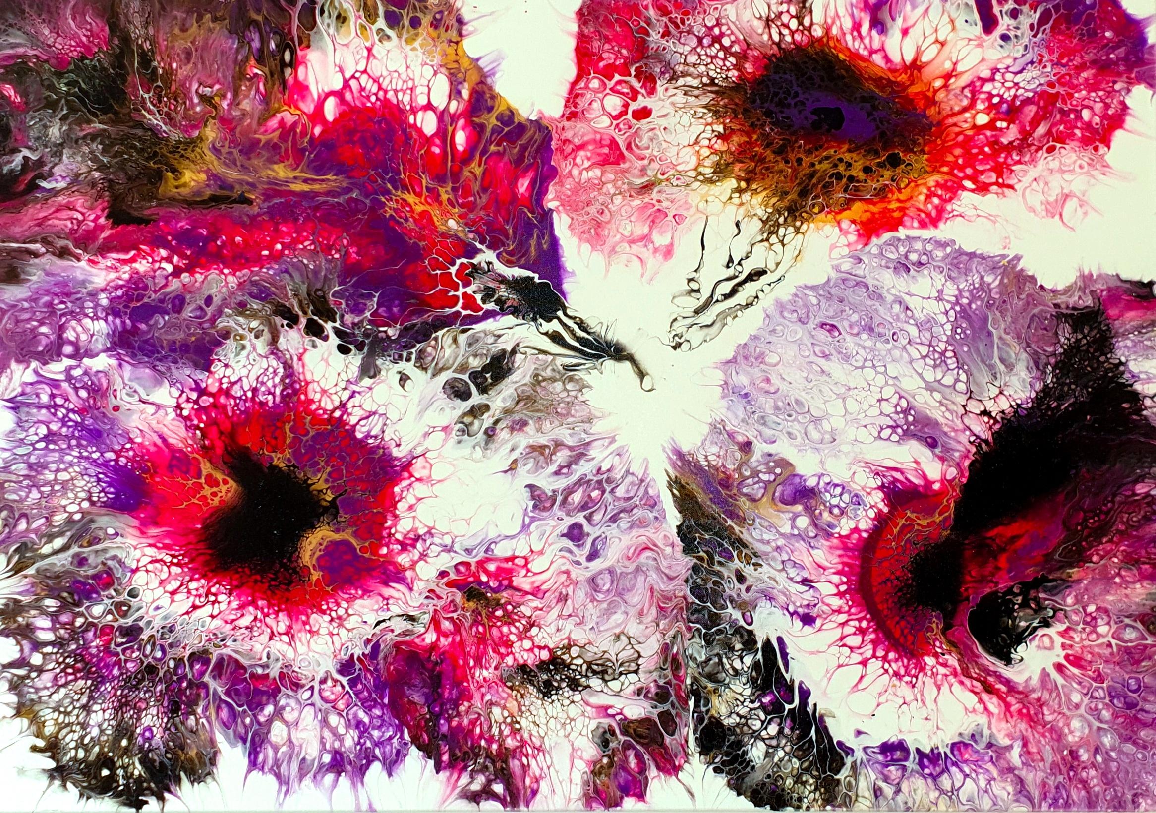 "Obraz akryl 100cm x 70cm pt.""Chemia miłości"" (2020)"