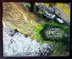 "Obraz akryl 54cm x 44cm pt. ""Tajemnice lasu"" (2020)"
