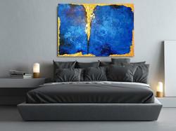 """Wizualizacja obrazu """"Głębia błękitu"""""""