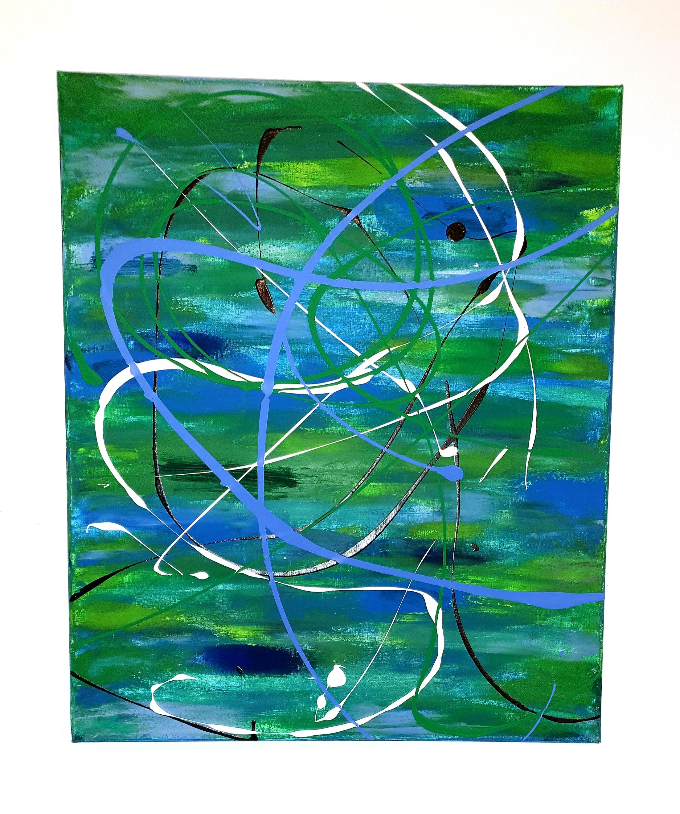 """Obraz akryl 70cm x 50cm pt. """"Horyzont"""" (2019)"""