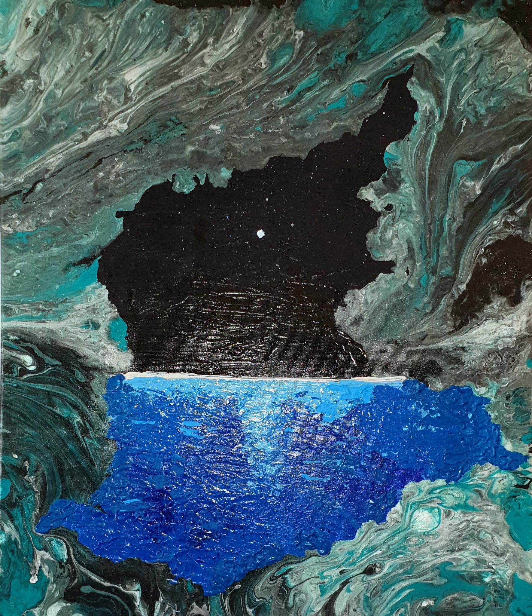 "Obraz akryl 60cm x 70cm pt. ""Okno"" (2020)"
