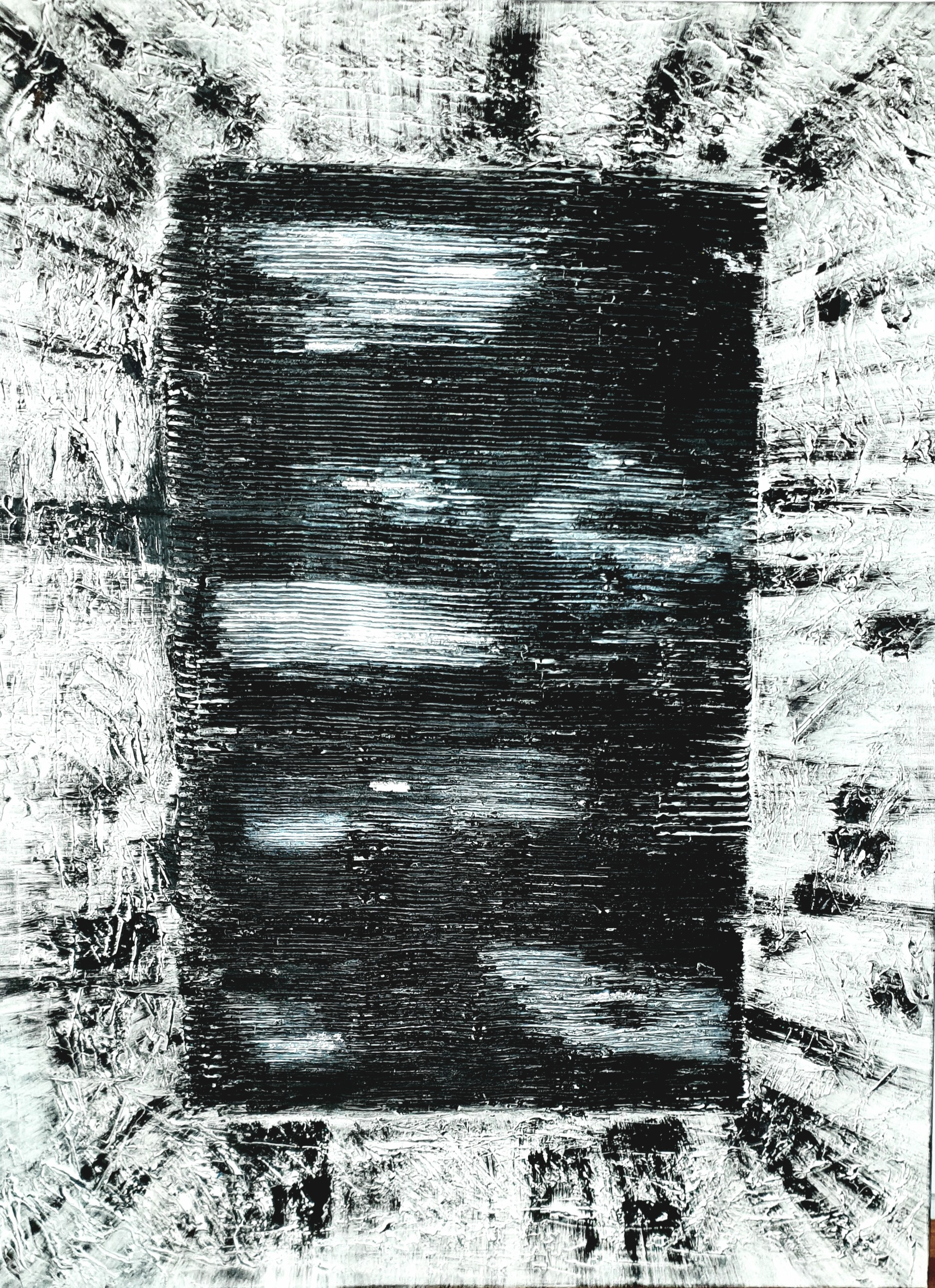 "Obraz akryl 70cm x 100cm x 4cm pt. ""Portal"" (2020)"
