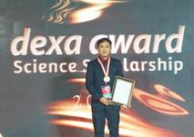 Hafidz Arkan, Universitas Jenderal Soedirman, Pemenang Dexa Award Science Scholarship 2018