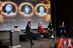 Talkshow bersama Founder Teman Bumil - Tiffany Robin, CoFounder Sabang Merauke -Ayu Kartika Dewi, Founder KitaBisa.com - Al Fatih Timur, dengan moderator oleh Ernest Prakasa