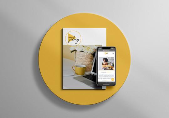 Magazine & Website Design