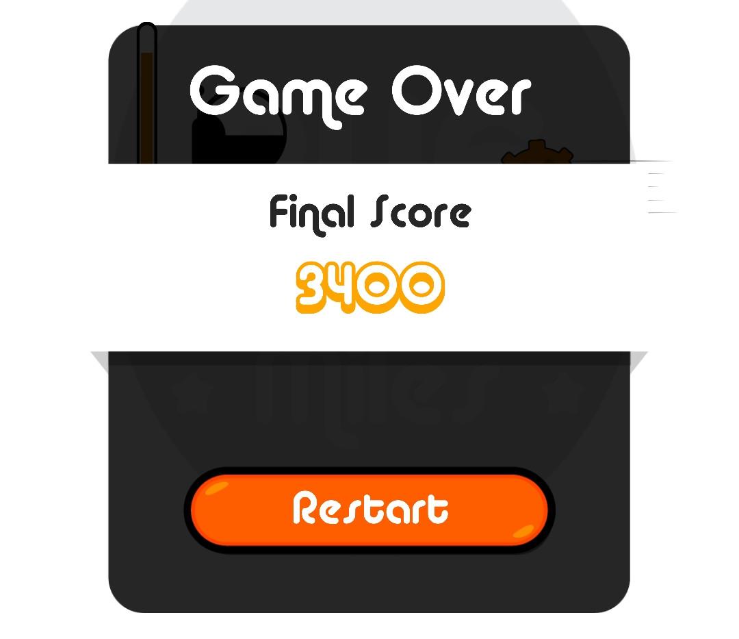 Game Over Menu