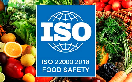 OMCE has been granted the ISO 22000:2018 Food Safety Management Certification