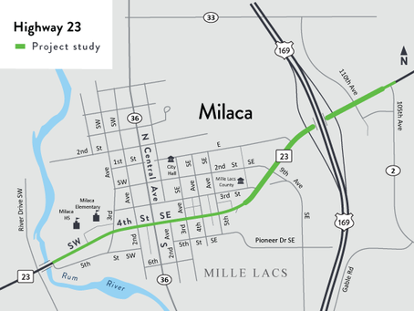 Milaca Looking for Input on Highway 23 Project