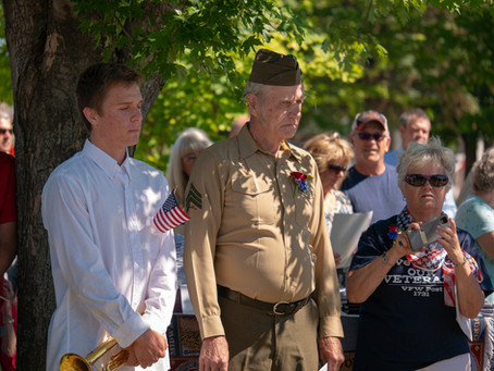 Vietnam Memorial Ceremony in Freedom Park
