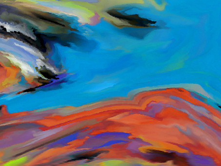 Abstract Painter John Niemi Featured for August Gallery at Pine Center for the Arts