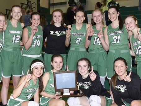 Pine City Girls Basketball are Great River Conference Champions