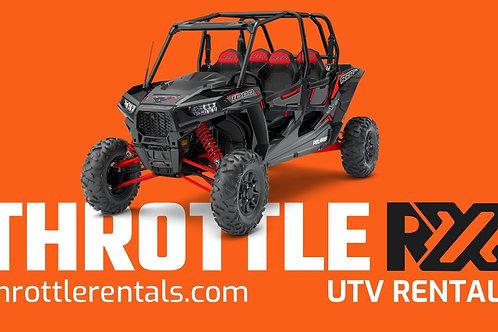 Throttle RX Rentals- Danbury, WI
