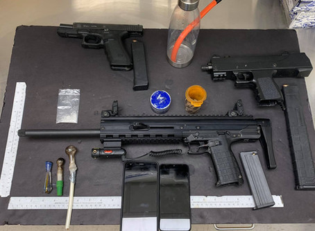 Guns and Drugs Discovered during Burnett Co. Traffic Stop