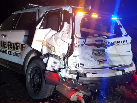 Chisago Co. Squad Struck by Pick-up, Deputy Recovering